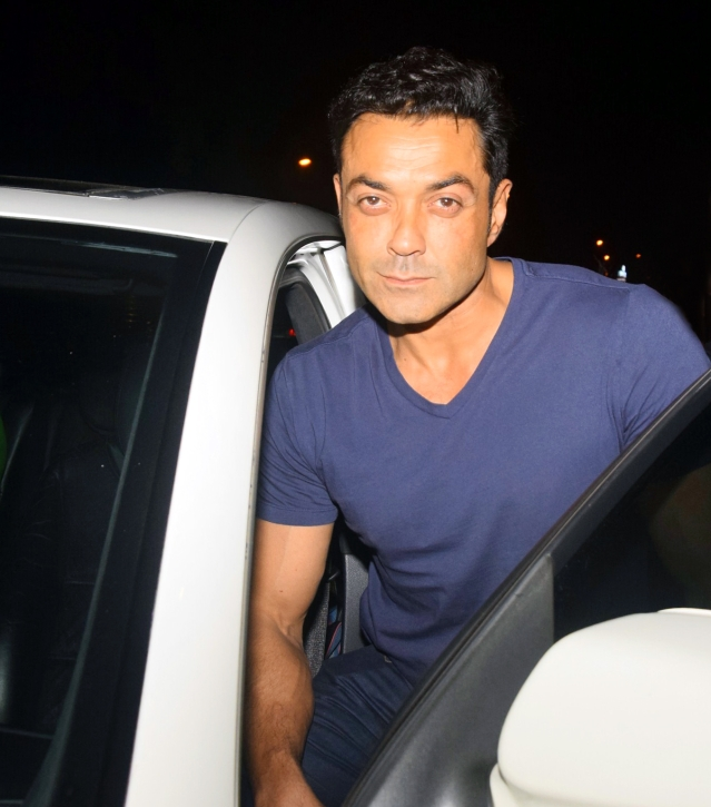 Bobby Deol is looking quite neat.