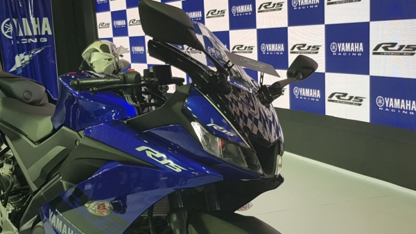 V3 of the Yamaha R15.