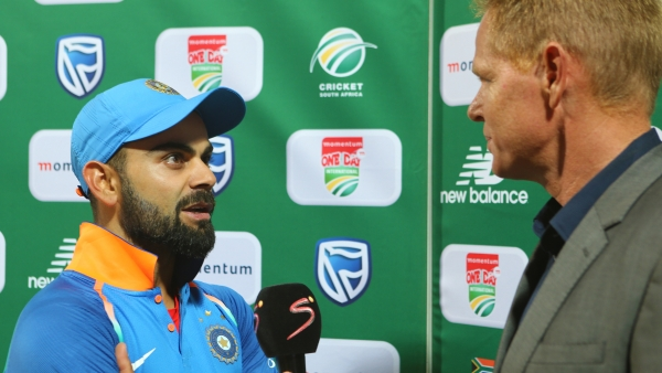 'My wife has kept me going throughout the tour,' said Virat Kohli after India's ODI series win over South Africa.