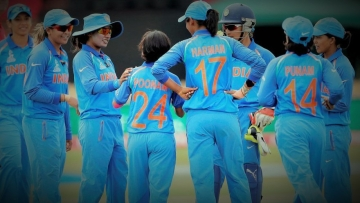 The Indian team was beaten by South Africa in the World Cup last year.