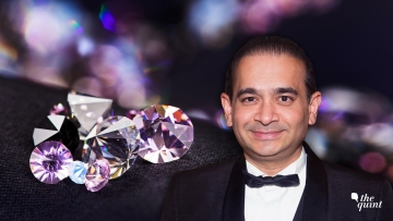 Absconding diamantaire Nirav Modi.