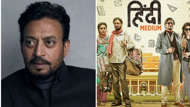 Actor, Irrfan Khan in <i>Hindi Medium</i>