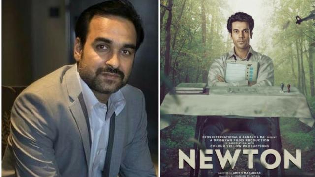 Actor Pankaj Tripathi in <i>Newton.</i>