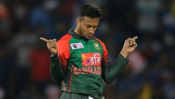 File photo of Shakib Al Hasan.