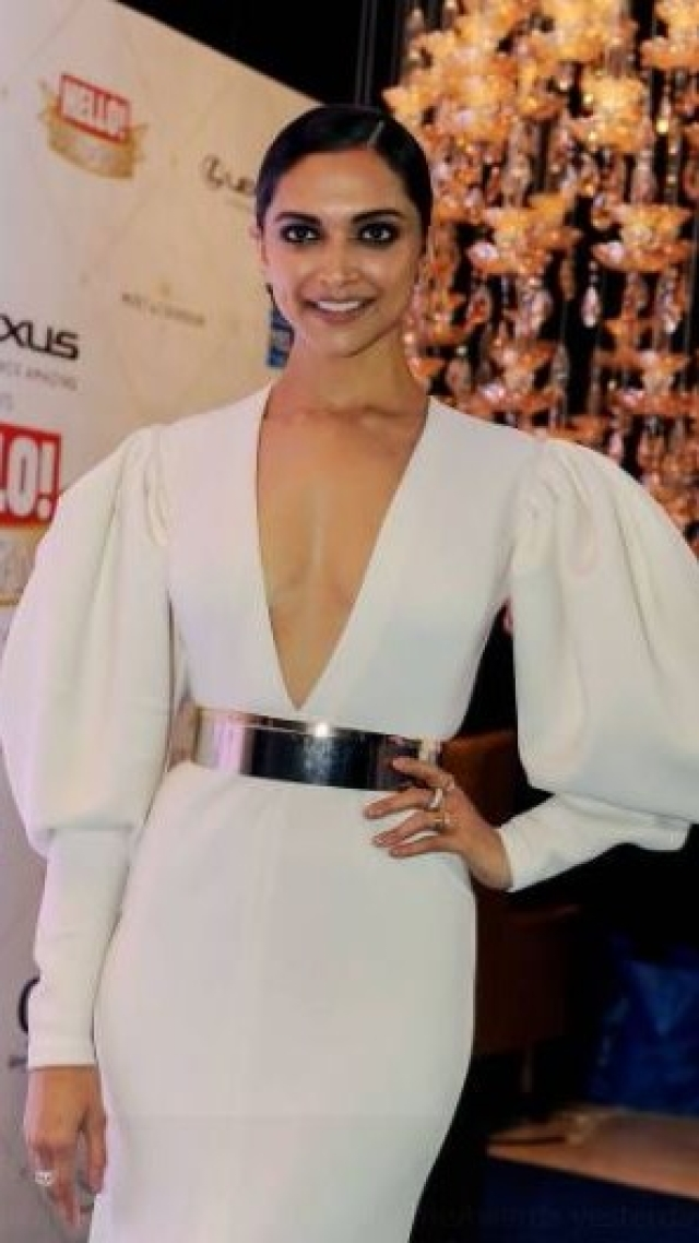 Deepika Padukone at an award show.