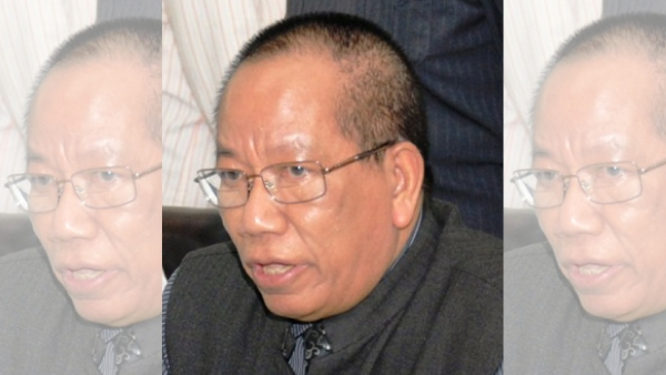 Former MP and ex-Commissioner of Police HT Sangliyana.