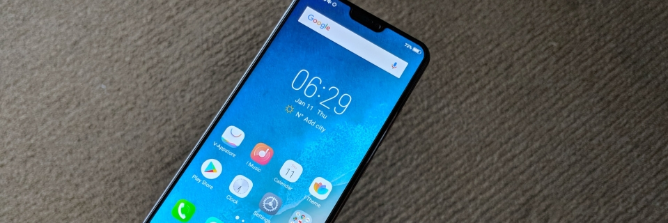 Vivo V9 First Impressions: Android is Taking the Notch