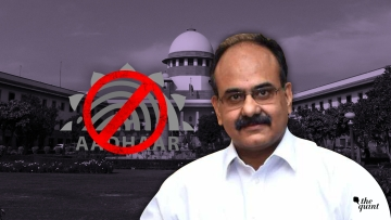 UIDAI CEO Ajay Bhushan Pandey made the admission at the end of his presentation to the Supreme Court