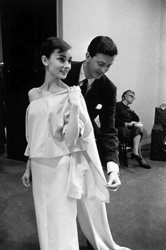 Givenchy's long friendship with Audrey Hepburn is the stuff of fashion lore.