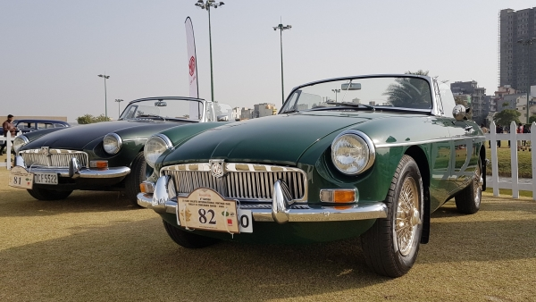 MG Motor India is hoping to leverage its rich heritage since 1924 to connect with buyers. Seen here is a 1969 MG MGB at the 21 Gun Salute Vintage Car Rally.