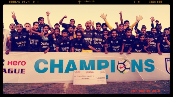 Minerva Punjab FC were crowned the I-League champions on Thursday in Panchukula