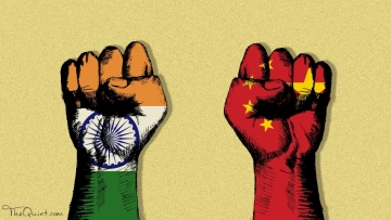 India and China flex muscle over Maldives.