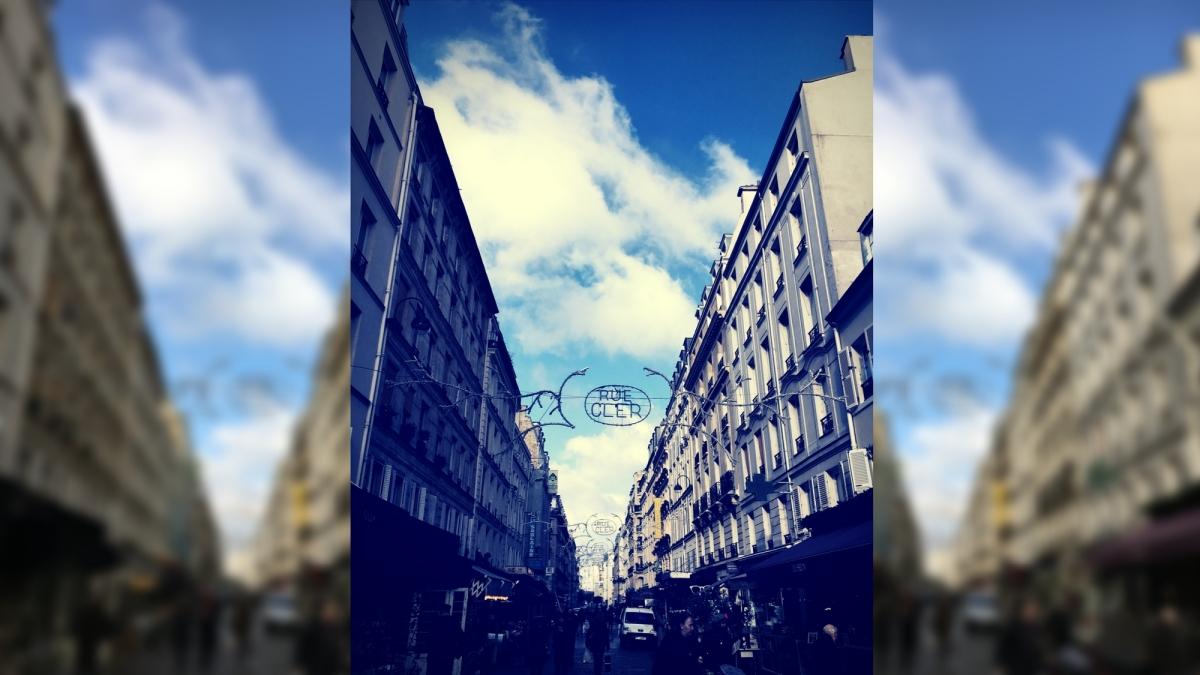 Rue Cler Street.