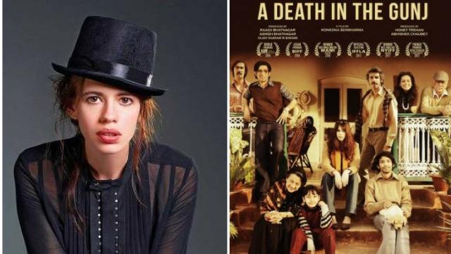 Actor Kalki Koechlin in <i>A Death In The Gunj</i>