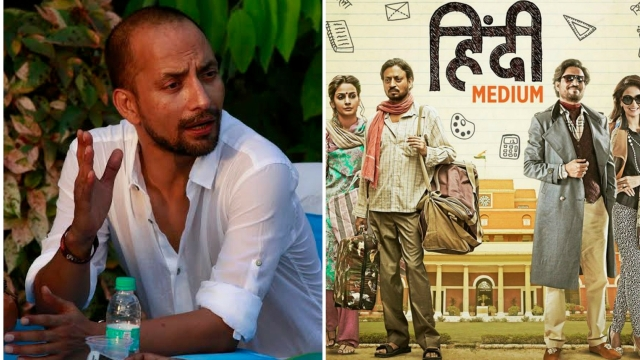 Actor Deepak Dobriya in<i> Hindi Medium.</i>
