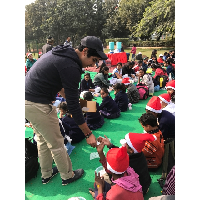 "Spreading cheer with the kids at ""Kids Day Out"" organised by Genesis Foundation."