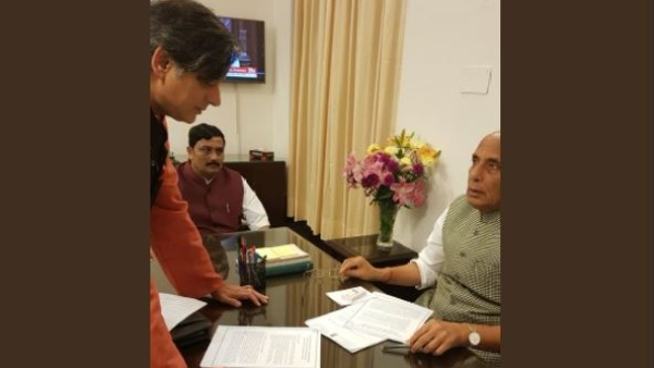 MP Dr Shashi Tharoor calls on the Home Minister to discuss The Quint's petition to make stalking a non-bailable offence.