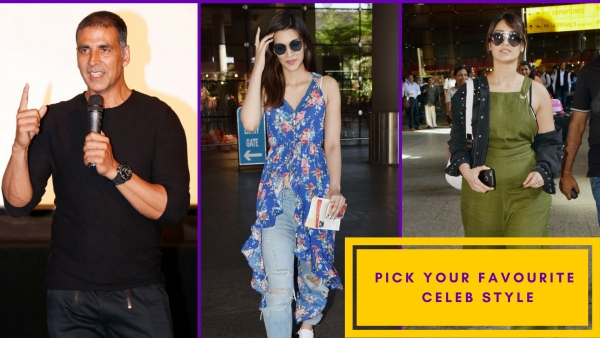 Akshay, Ileana and Kriti Sanon - pick your fave celebrity style.