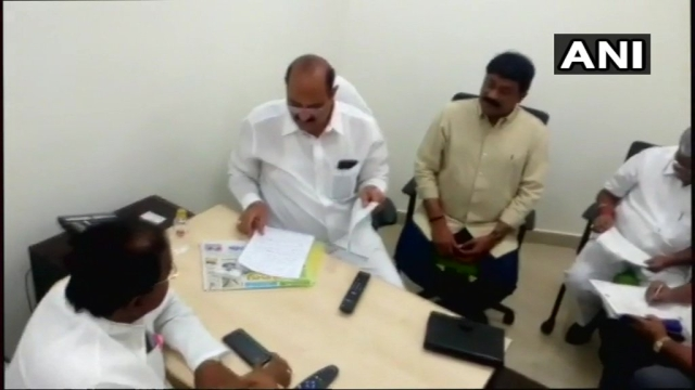 BJP ministers in Andhra Pradesh cabinet submit their resignation in CM Naidu's office