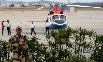 A helicopter-taxi (heli-taxi). (Photo: IANS)