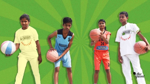 Five children have been selected for the Junior NBA Nationals from Gejha village in Noida.
