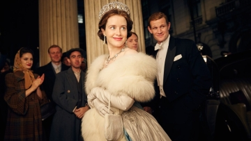 A still from <i>The Crown</i>.