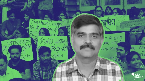 JNU's School of Life Sciences Professor Atul Johri was accused of sexual harassment –by seven different students and one former student of the department.