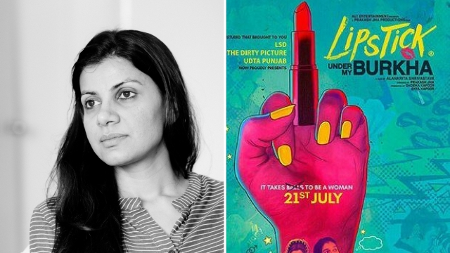 Alankrita Shrivastava, the director of<i> Lipstick Under My Burkha. </i>