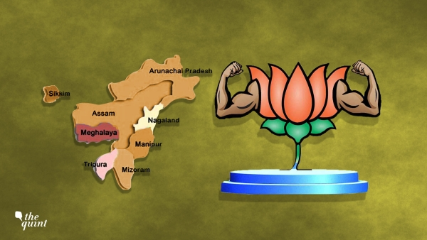 BJP's Northeast Triumph Shows Amazing Flexibility of the Party