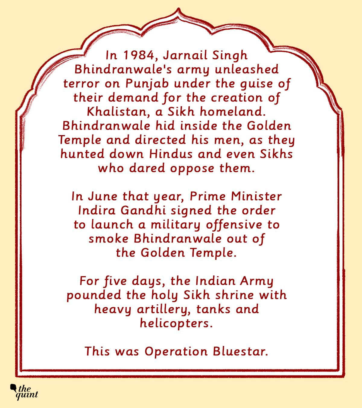 Graphic Novel: The Bloody History of Bhindranwale and Op