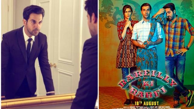Actor Rajkummar Rao in<i> Barilley ki Barfi</i>