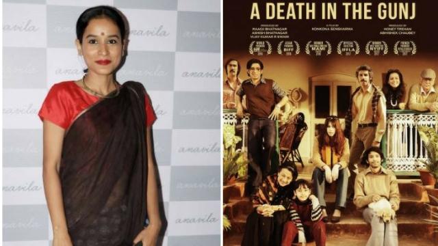 Actor Tilotama Shome in <i>A Death In The Gunj</i>