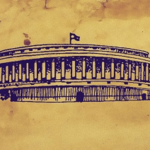 According to the rules of the Indian Parliament, a government must always have majority support in the Lok Sabha in order to remain in power.