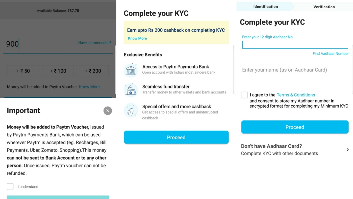 Not Able to Use Paytm or Mobikwik? Complete Your KYC Now! - The Quint