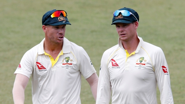 Steve Smith and David Warner both have stood down as captain and vice-captain for the remainder of this Test.