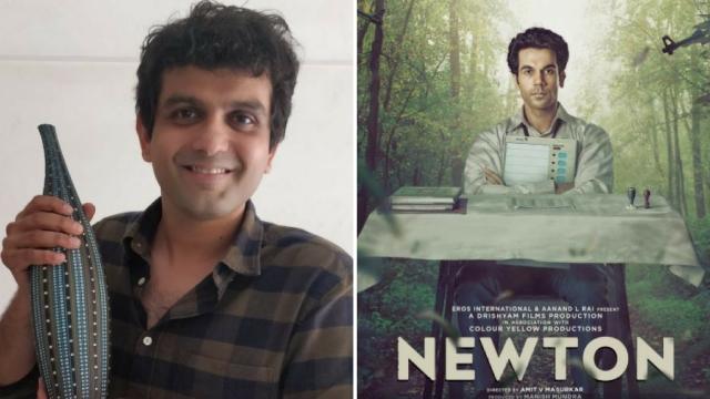 Amit Masurkar, the director of <i>Newton.</i>