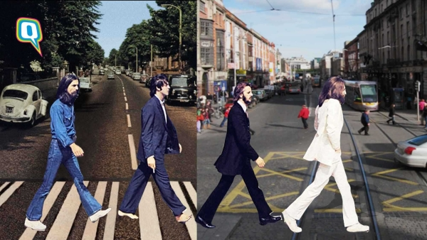 What if the The Beatles crossed the Abbey Street in 2018.