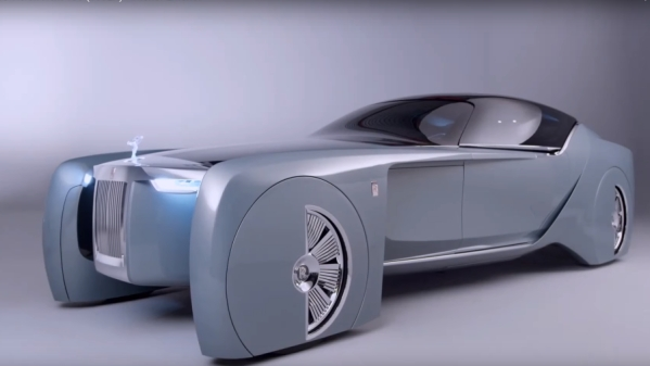 The Rolls-Royce Vision Next 100 concept car.
