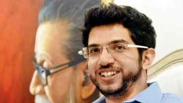 Aaditya Thackeray has voiced his protest over the Dharavi redevelopment plan.