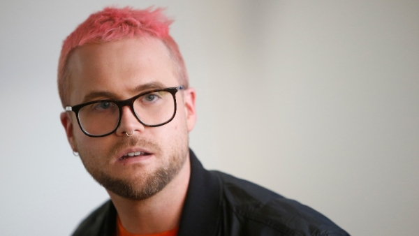 Cambridge Analytica whistleblower Christopher Wylie.