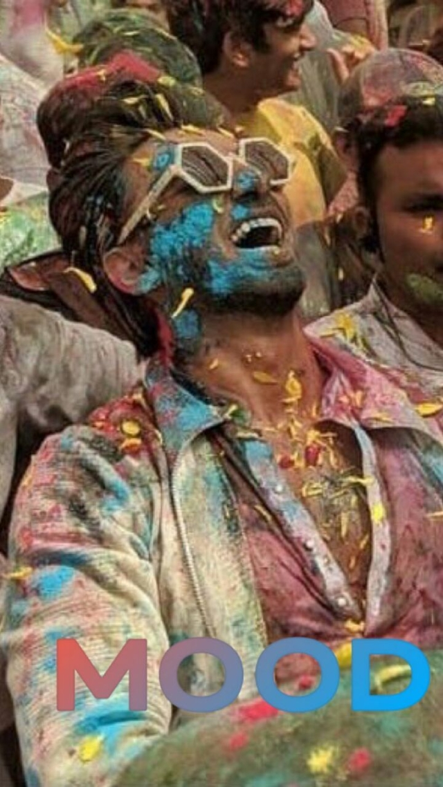 Ranveer Singh hosts a Holi bash for Pharrell Williams.