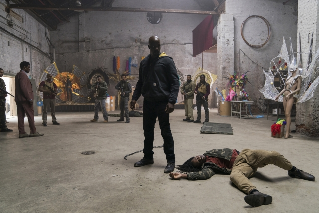 A still from <i>Luke Cage</i>.