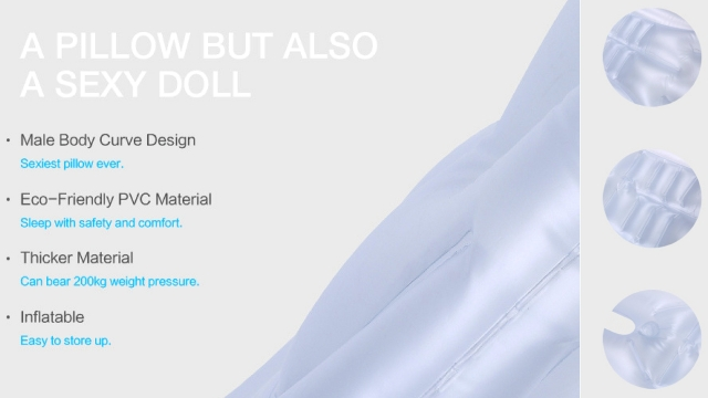"""""""A pillow but also a sexy doll,"""" advertises Delux Toys."""