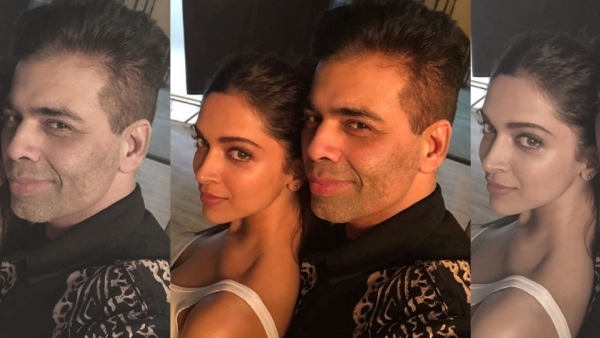 We wonder what Deepika Padukone and Karan Johar  are up to?