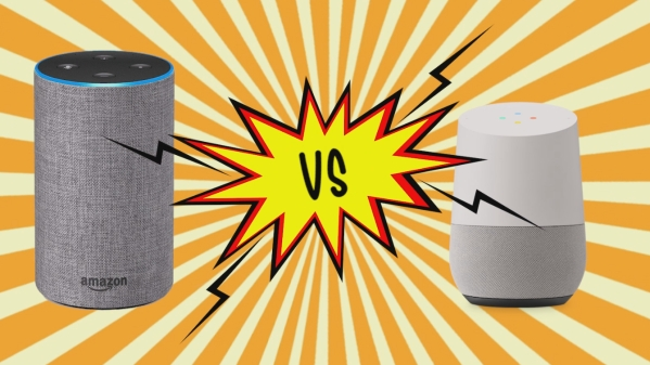Amazon Echo and the Google Home answer a set of questions.