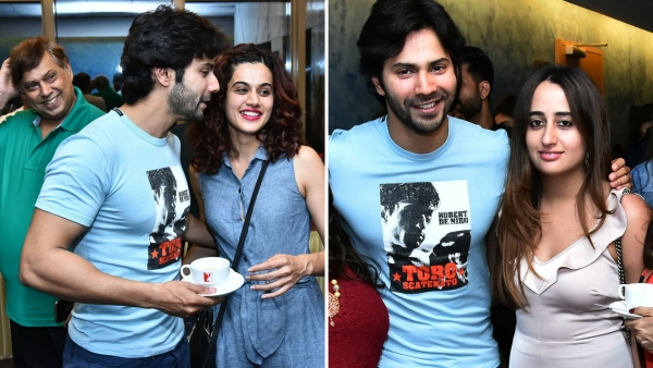Varun hosts a special screening of <i>October</i> for his friends.