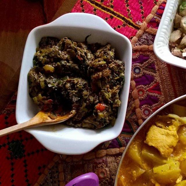 A chutney from Arunachal Pradesh