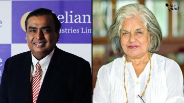 Mukesh Ambani (left) and Indira Jaisingh (right) feature on Fortune's top 50 leaders list.