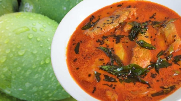 <i>Pachmanga meen</i> curry from Kerala's Thrissur uses raw mango to create a winner.