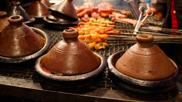 Beef, chicken or fish - tagines come in myriad avatars.